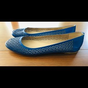 J. Crew Shoes - J. Crew Perforated Leather Flats
